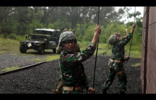 Indonesia Platoon Exchange | Ropes and Knots | US Army military | Part 2