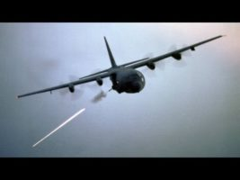 AC-130 Gunship in Action – Firing All Its Cannons • Exercise Emerald Warrior