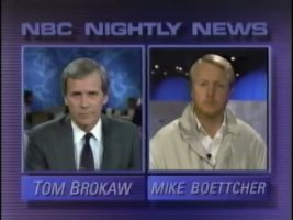 News Coverage of the First Night of the First Gulf War, Operation Desert Storm, January 16, 1991