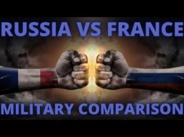 RUSSIA VS FRANCE MILITARY POWER COMPARISON | MILITARY STATS