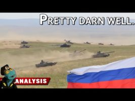 Just how well trained is the Russian army? (And are its logistics up to the task?)